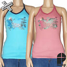 PROTEST 'CUBE' WOMENS HALTER TOP SHIRT HOT PINK AQUA 8 10 12 14 BNWT NEW RRP £15