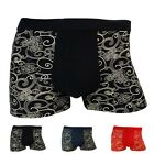 New Men's Fashion Bamboo Fiber Underwear Breathable Boxer Briefs Underpants