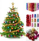 30/40/50MM Christmas Tree Xmas Balls Decorations Baubles Party Wedding Ornament!