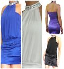 Dress Club Party Sexy Bodycon Evening Womens Mini Ladies Top Size 8 10 12 14 16