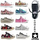 NEW CONVERSE ALL STARS LADIES GIRLS CHUCK TAYLORS TRAINERS ALL SIZE UK 3-8