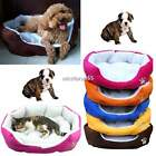 Puppy Pet Cat Dog Winter Soft Fleece Cozy Warm Bed House Cotton Mat Pad N4U8