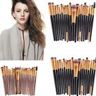 20 pcs/set Makeup Brush Set tools Make-up Toiletry Kit Wool Make Up Brush gift