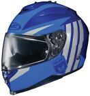 HJC 2015 Adult IS-17 Grapple Street Motorcycle Helmet Blue XS-2XL