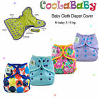 Coolababy  One size  Reusable Baby Cloth Diaper Nappy Cover