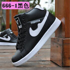 2015 New Fashion High-top Mens Breathable Recreational Shoes Casual Sneakers