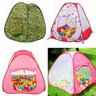 Children Playtent Play House Kids Play Tents Indoor Outdoor Various Castle Style