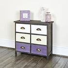 Shabby Chic Chest of Drawers Home Storage Bedroom Furniture Bedside Table