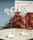 Clear Butterfly Wedding/Party Table Place Card/Number/Name Holders Clips Quality