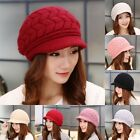 Fashion Womens Lady Winter Warm Knitted Crochet Slouch Baggy Beanie Hat Cap 136
