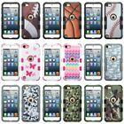Image Print TUFF Stand Hybrid Protective Case Cover For Apple iPod Touch 5/6