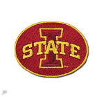 Iowa State Cyclones Primary Round Logo Embroidery Iron On Patch Hat Football