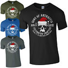 Sons Of Arthritis Christmas Skull T-Shirt Funny SOA Mobility Club Mens Gift Top