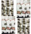 Wholesale Lots Men Sports Cotton Crew Socks White H/T Black Tips P274 9-11 10-13