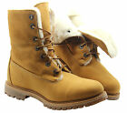 Timberland AF Authentic Sherling Wheat Fold Top Womens Boots Shoes 61672 D82
