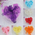 6x Bath Body Flower Heart Favor Soap Rose Petal Wedding Decoration Party Gift YY