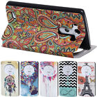 Vintage pattern style Slim Flip Stand PU Leather pouch Cover Case skin for LG G3