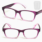 READING GLASSES Multi-pack PURPLE Pink Rimmed Readers Geek +1.5+2+2.5+3
