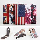 New Flip PU Printed Leather Cover Wallet Case Skin For Lenovo Vibe P1M Cellphone