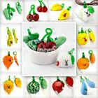 """HOT!!! """" me1pc Lampwork Glass Fruit Vegetable Leaf Charms Pendant Necklace Chain"""