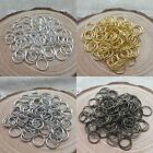 300/2000x Fashion Silver/Gold Plated Open Jumping Rings Findings 4/6/8mm