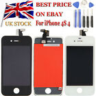 Replacement LCD Display Touch Screen Digitizer Assembly For iPhone 4S 4 UK