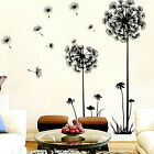 Luxury Dandelion Wall Art Decal Sticker cute Modern gift Mural PVC Home Decor
