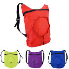 New Women Men Shopping Bag Drawstring Backpack Travel Sport Satchel Folding Tote