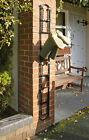 Wall Mounted Four Pair Boot Or Wellie Welly Rack - Black
