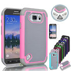 Hybrid Rugged Defender Impact Hard Skin Case Cover For Samsung Galaxy S6 Active