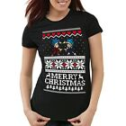 Merry Christmas Goku Vegeta Weihnachten Damen T-Shirt Son Ball Geschenk Dragon