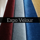 EXPO VELOUR Cloth [15 Colors Available!] Sold by the Yard NEW