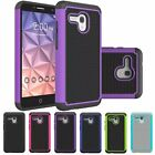 Dual Layer Hybrid Rugged Shockproof Case Cover For Alcatel One Touch Fierce XL