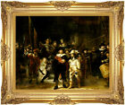 The Night Watch Rembrandt van Rijn Painting Reproduction Framed Canvas Art Print