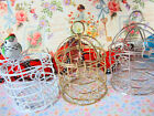 "3 Mini Bird Cage 3"" Ornament/Party Favors/Craft/Floral Home Decor B96-Pick Color"