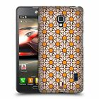 HEAD CASE DESIGNS DAISY PATTERNS HARD BACK CASE FOR LG PHONES 3