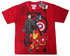 Avengers Ultron Thor Iron Man boys cotton t-shirt Sz 6,8,10,12 Age 4-9y FreeShip