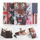 Flip Printed Leather Wallet Case Cover Skin For Prestigio Grace MultiPhone 7557