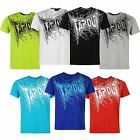 Tapout Mens Core Logo T Shirt Tee Top Short Sleeve Casual Crew Neck Printed