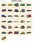 LORRIES BUS. CD or USB machine embroidery designs files most formats pes etc