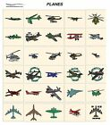 PLANES. CD or USB machine embroidery designs files flying most formats pes etc