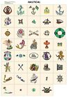 NAUTICAL. CD machine embroidery designs files most formats pes jef hus etc