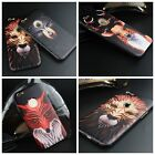 Cartoon Animal Emboss 3D Frame Mobile Phone Cover For iPhone6 / iPhone6plus Case