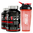 TestRippd 60 Caps Rippd HardCore Anabolic Testosterone Support x 2 + FREE Shaker