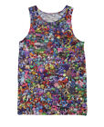 Pokemon Collage  All Over Print Tank Top Crop #V063