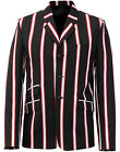 NEW MENS MADCAP BOATING BLAZER Mod Brian Jones Striped 60s JACKET MC214 T6 A/B