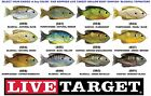 Koppers Live Target Sunfish Hollow Body Topwater Pumpkinseed Bluegill SFH75T 90T