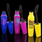 3Pcs Women Makeup Eye Lashes Cosmetic Waterproof Eyelash Black Brush Mascara