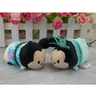 Lot 2 pcs Mickey and Minnie Statue of Liberty Tsum Tsum Stuffed plush Toy Dolls