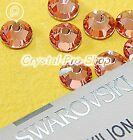 GENUINE Swarovski Vintage Rose (319) Iron On glass Flat back Hot fix Rhinestones